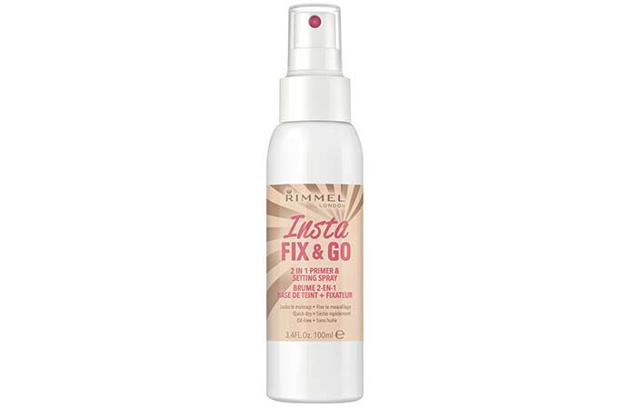 Best Makeup Setting Sprays - 7. Rimmel Insta Fix & Go Setting Spray