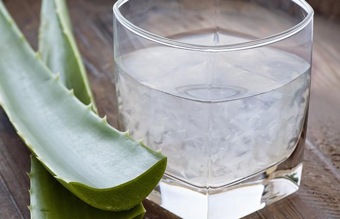 8. Aloe Vera Juice
