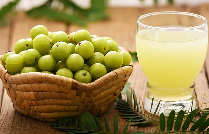 Amla Juice - Home Remedies For PCOS