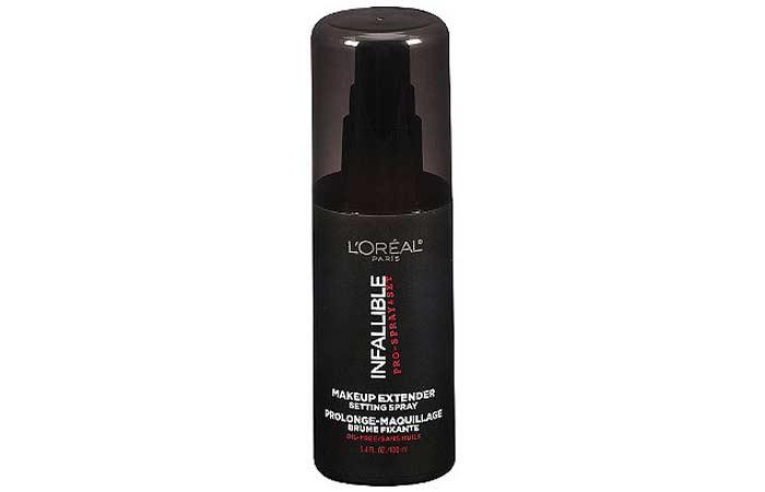 Best Makeup Setting Sprays - 9. L'Oreal Infallible Makeup Extender Setting Spray