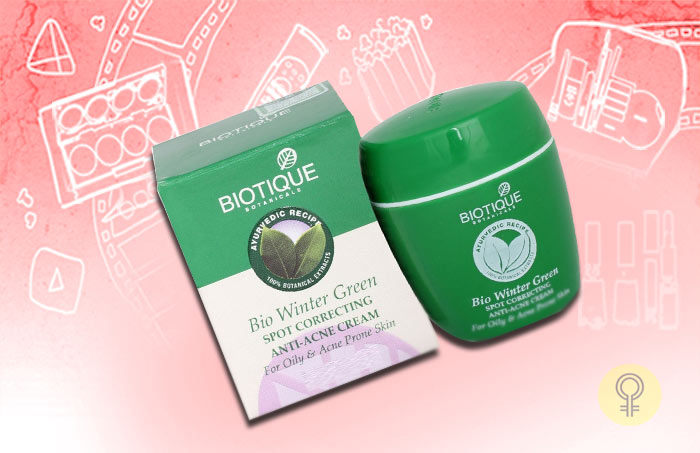 Biotique Bio Wintergreen Spot-Correcting Anti-Acne Cream