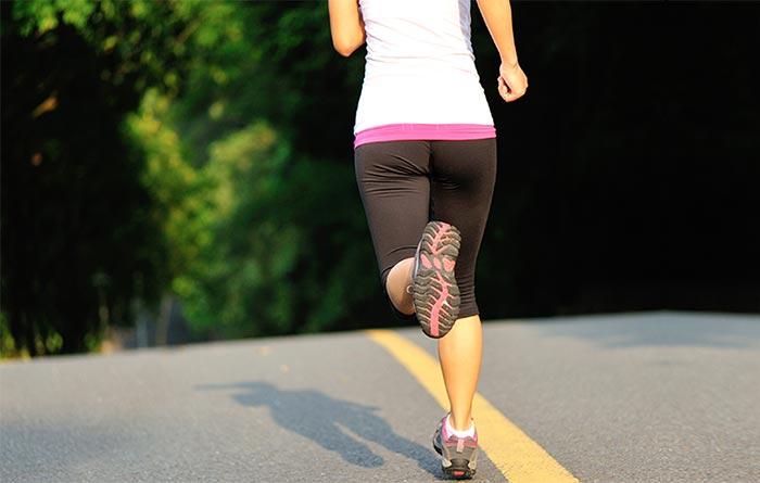 Exercises For Weight Loss - Butt Kicks