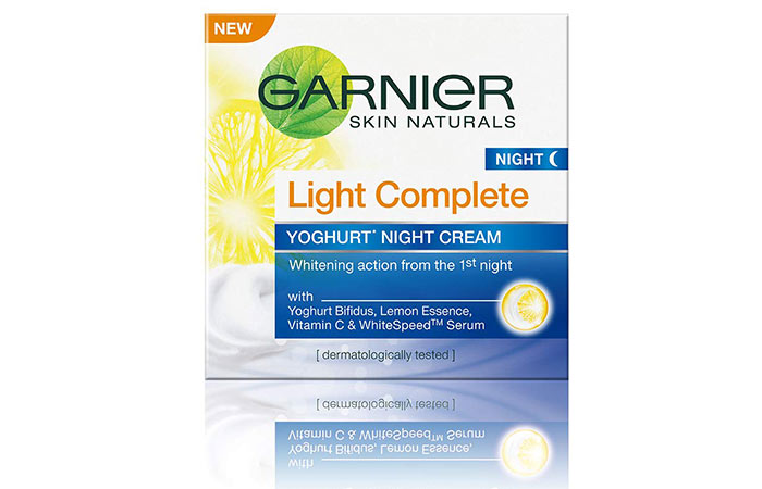 Garnier Light Complete Yoghurt Night Cream