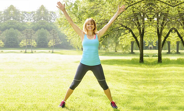 Exercises For Weight Loss - Jumping Jacks