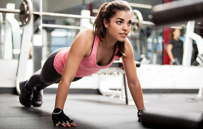 Exercises For Weight Loss - Push-Ups