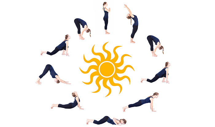 Exercises For Weight Loss - Surya Namaskar