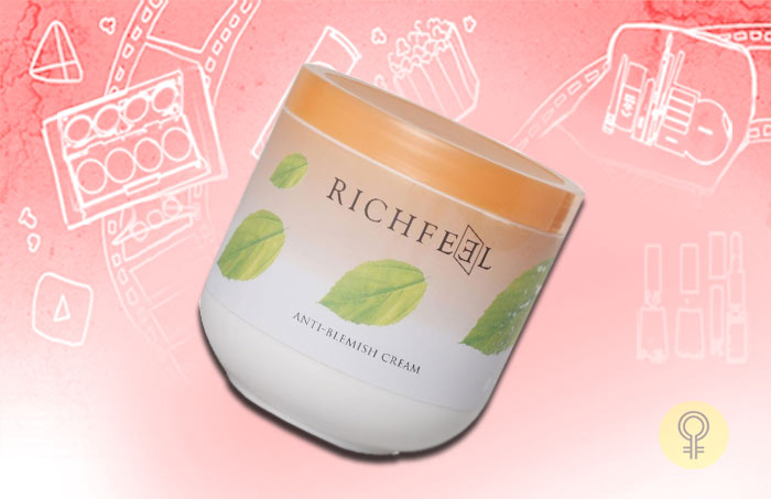 The Richfeel Anti Blemish Cream