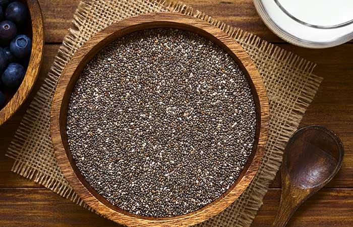 (b) Chia Seeds