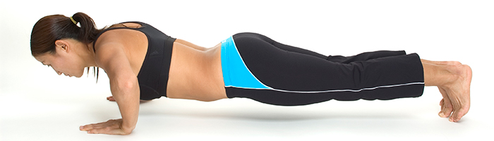 Exercises For Weight Loss - Plank