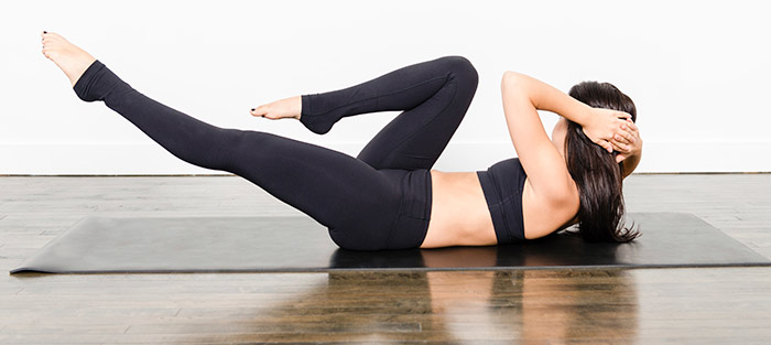 Exercises For Weight Loss - Bicycle Crunches