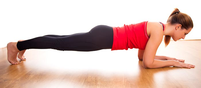 Exercises For Weight Loss - Forearm Plank
