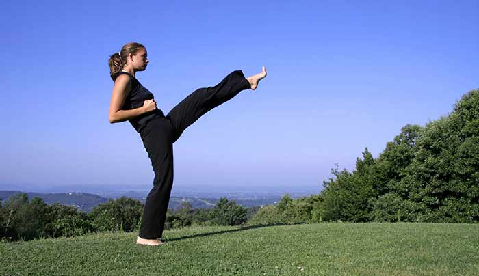 Exercises For Weight Loss - Front Kicks