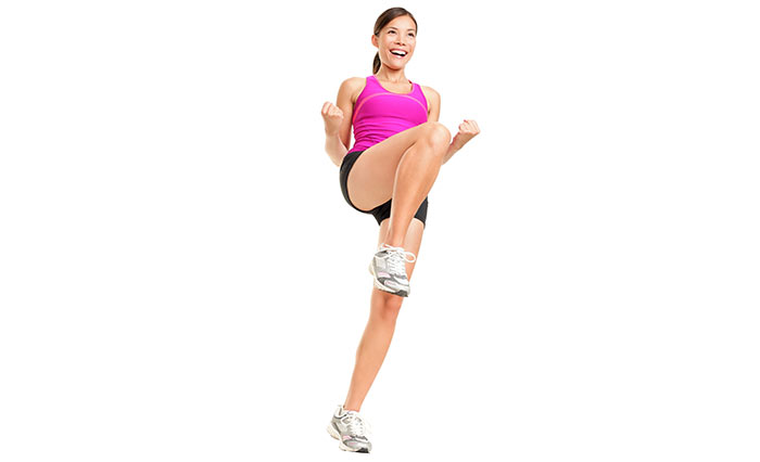 Exercises For Weight Loss - Knee High