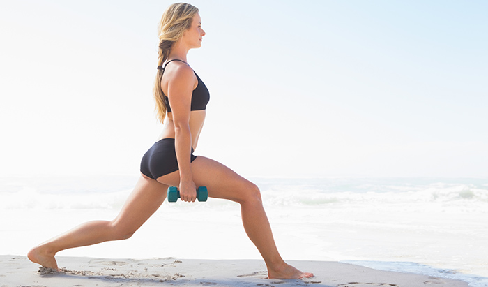 Exercises For Weight Loss - Lunge