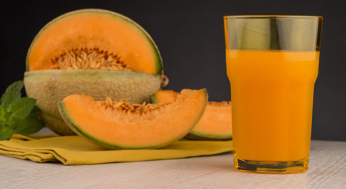 Juice Recipes For Summer - Musk Melon Juice
