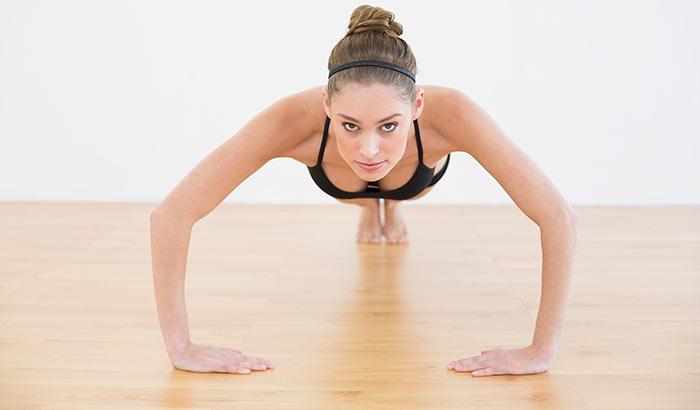 Exercises For Weight Loss - Plank Jacks