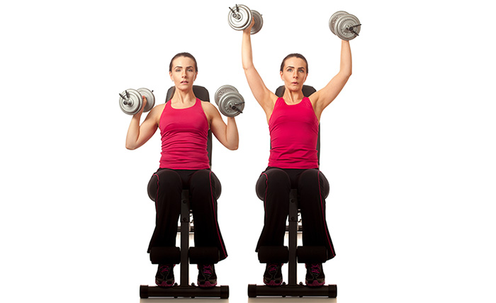 Exercises For Weight Loss - Overhead Press