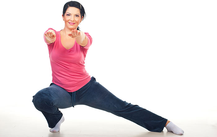 Exercises For Weight Loss - Side Lunges