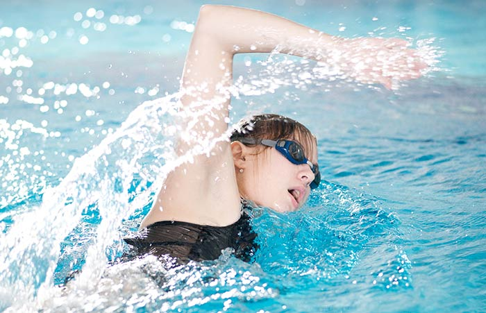 Exercises For Weight Loss - Swimming