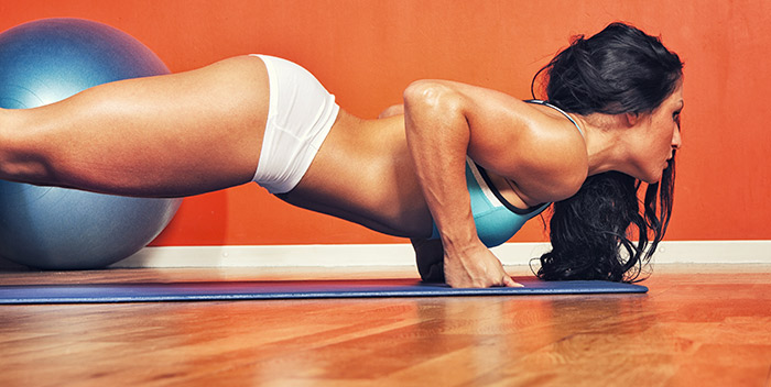 Exercises For Weight Loss - Triceps Push-ups
