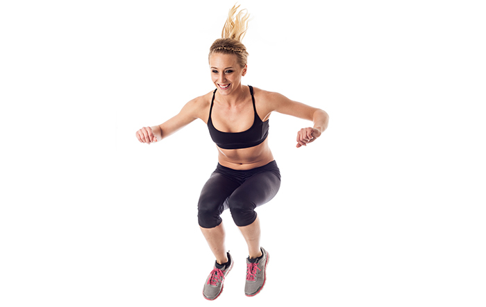 Exercises For Weight Loss - Tuck Jumps