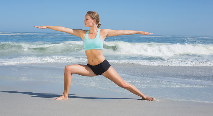 Exercises For Weight Loss - Warrior Pose