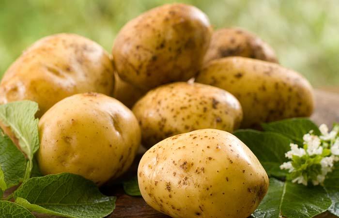 1. Potatoes For Welder's Flash