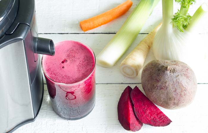 3. Celery And Beetroot Juice For Weight Loss