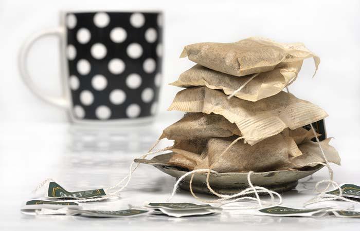 3. Tea Bags For Welder's Flash
