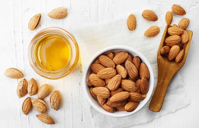 Castor Oil For Eyelashes - Castor Oil And Sweet Almond Oil Combo For Eyelashes