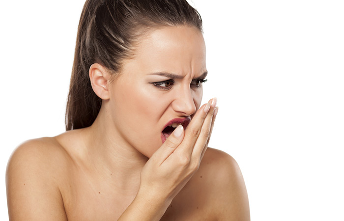 salt water gargle - Eliminates Bad Breath