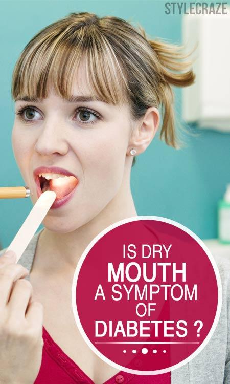 Is Dry Mouth A Symptom Of Diabetes?