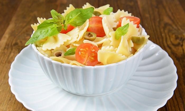 Pasta With Summer Veggies