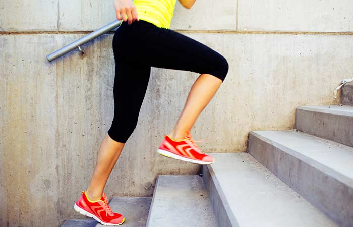 Ways To Get The Perfect Slim Body - Run Up And Down The Stairs