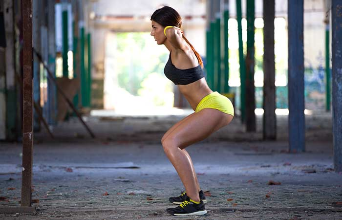 Ways To Get The Perfect Slim Body - Squat