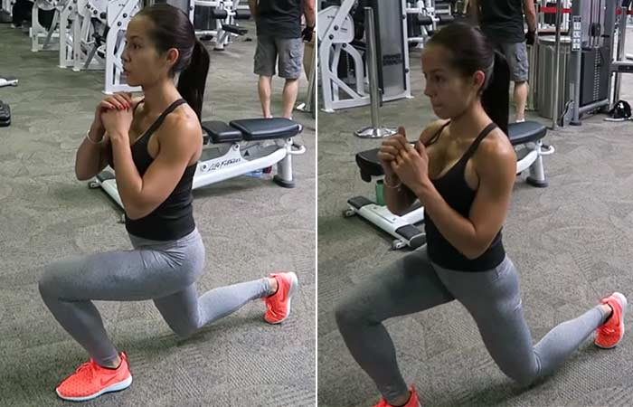 Stationary Lunges