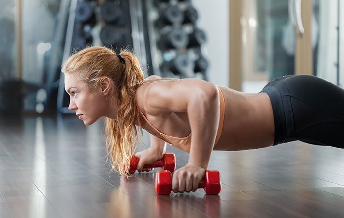 Ways To Get The Perfect Slim Body - Push-Ups