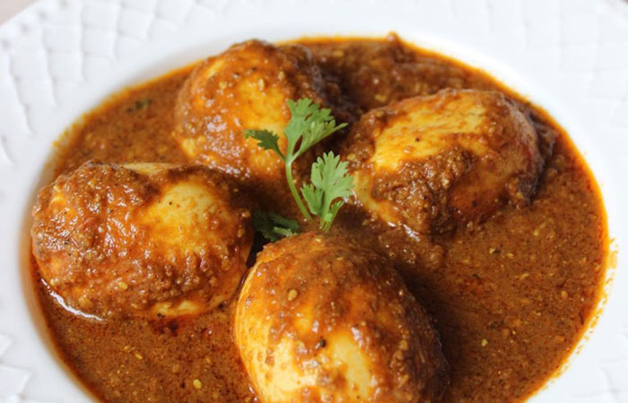 Egg Curry Recipes - Punjabi Egg Masala Curry
