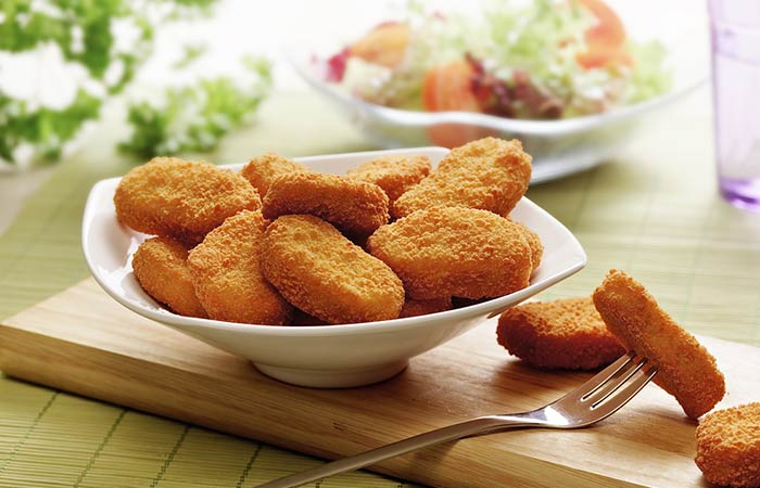 Chicken Nuggets Recipes - Almond Crusted Chicken Nuggets