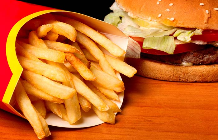 11. Fried Or Fast Foods