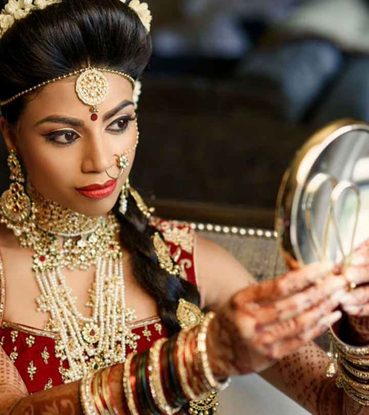 60 Best Indian Bridal Makeup Tips For Your Wedding