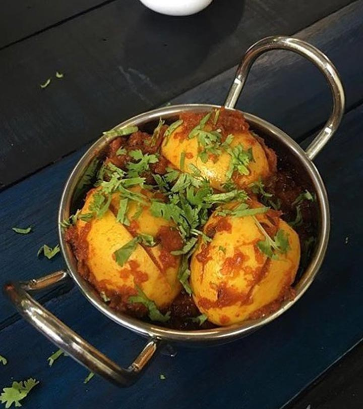 15 Simple And Quick Egg Curry Recipes