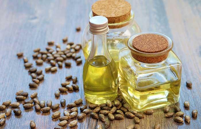 Castor Oil For Treating Dandruff - Castor Oil, Almond Oil, And Rosemary Oil
