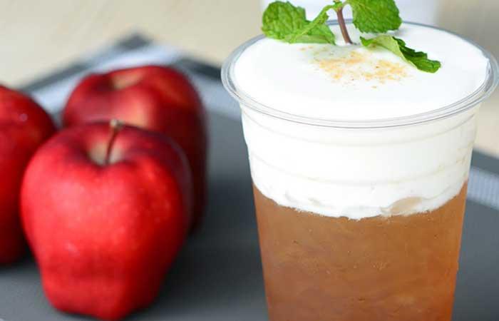 3. Apple Cider Vinegar And Green Tea Detox Drink