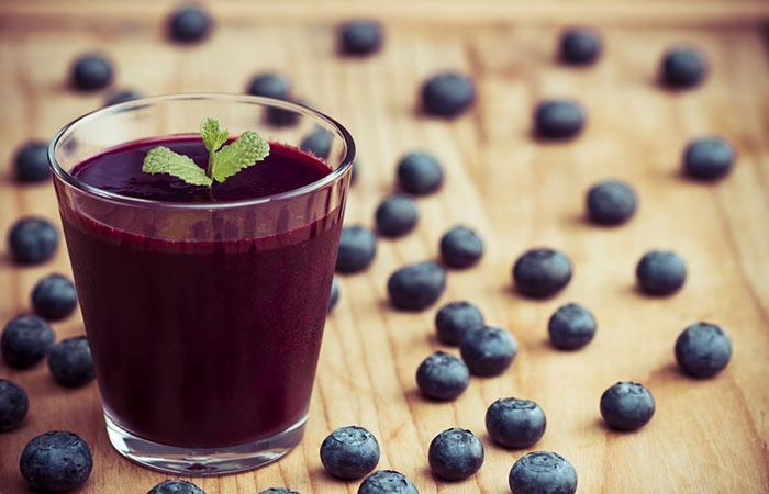 3. Blueberry Juice