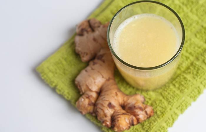 Castor Oil For Treating Dandruff - Castor Oil And Ginger Juice