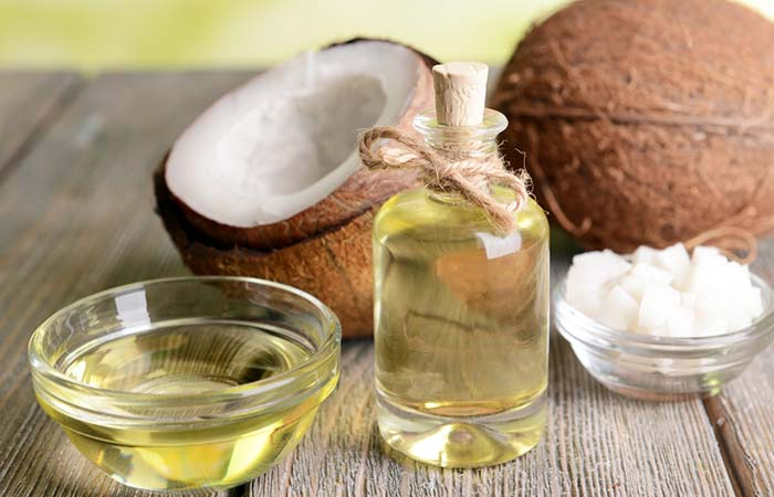 3. Coconut Oil And Castor Oil
