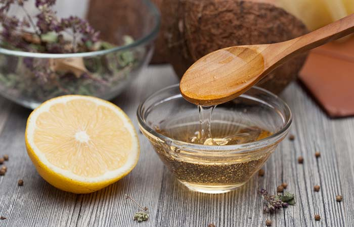 4. Lemon And Castor Oil