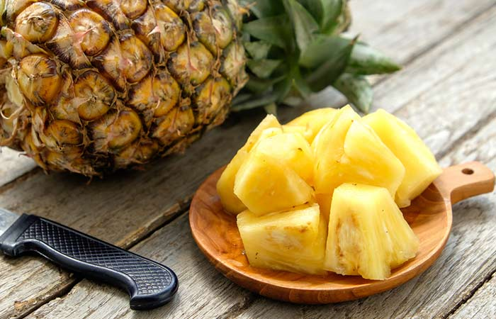 4. Pineapples