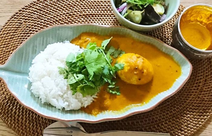 4. South Indian Egg Kurma Curry